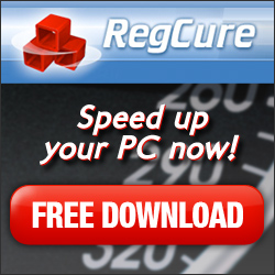 RegCure to scan and fix registry errors, most reliable and affordable, editors choice